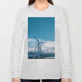 The Wind Farm (Color) Long Sleeve T-shirt