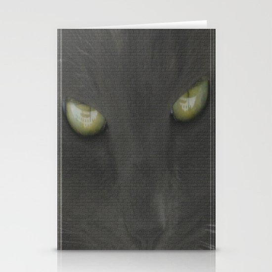 walls have eyes Stationery Cards