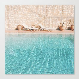 Swimming Pool V Canvas Print
