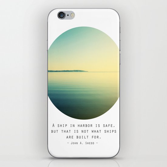 A Ship iPhone & iPod Skin