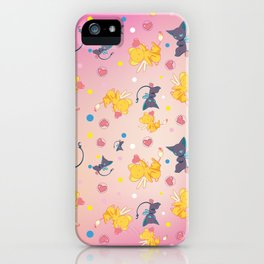 Spinell & Kerochan Pattern iPhone Case