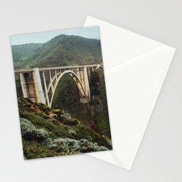 Bixby Bridge | Big Sur California Highway Ocean Coastal Travel Photography Stationery Cards