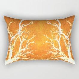 Branches of Fire Touch Rectangular Pillow