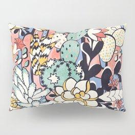 Blue Sky Succulents Pillow Sham