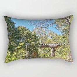 Rustic Railway Bridge Rectangular Pillow