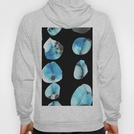 watercolor polka dots seamless pattern Hoody