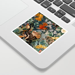 Birds and snakes Sticker