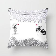 Little Love Story Throw Pillow