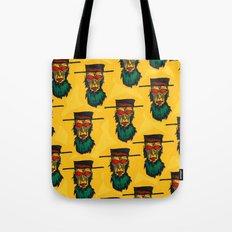 Beware the killer Amish! Tote Bag