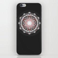 Flower of Life + Metatrons Cube iPhone & iPod Skin