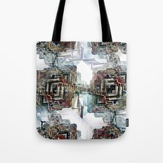 Saturday 30 March 2013: as useful as ducking puddles or jumping over rain. Tote Bag