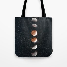 Phases of the Moon II Tote Bag