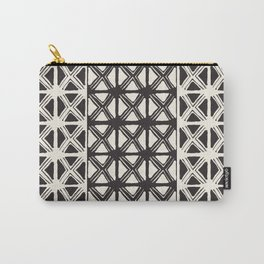 B&W Tribal #society6 #tribal Carry-All Pouch