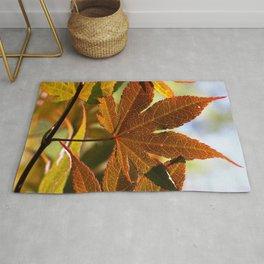 Japanese Maple Leaf Rug