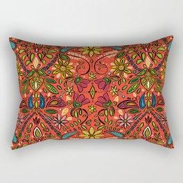 aziza fire Rectangular Pillow