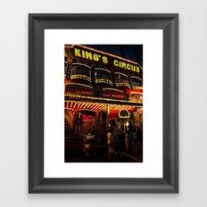 King's Circus Framed Art Print
