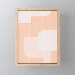 Retro Tiles 04 #society6 #pattern Framed Mini Art Print