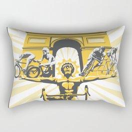 Le Grande Boucle Tour de France Rectangular Pillow