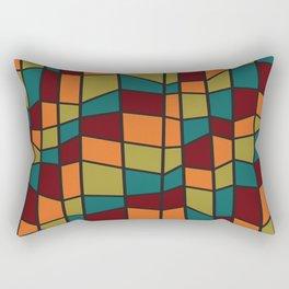 Colorful bauhaus Rectangular Pillow