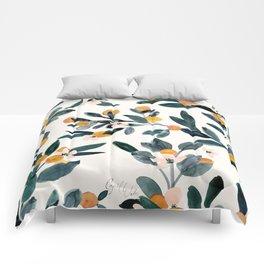 Clementine Sprigs Comforters