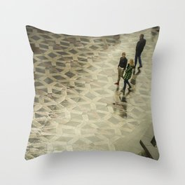COPENAGUE WALK Throw Pillow