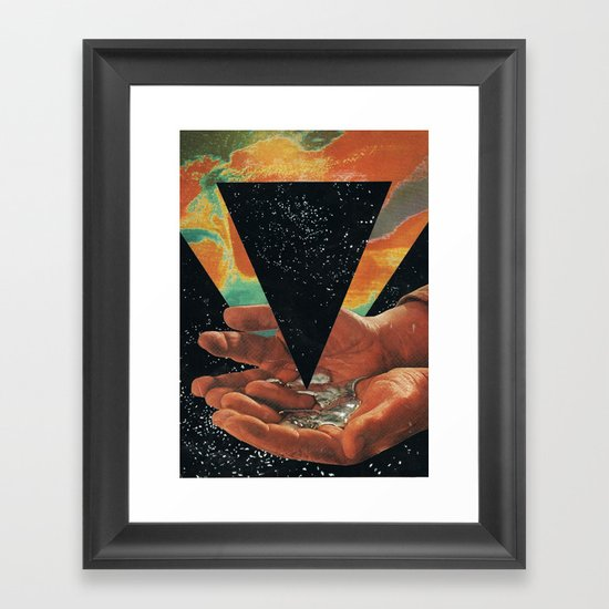disruption of his world... (Paradise) Framed Art Print