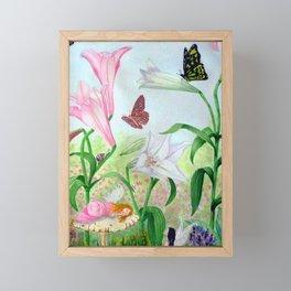 Fairy Garden#1 Framed Mini Art Print