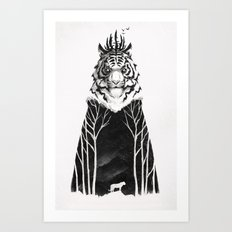 The Siberian King Art Print