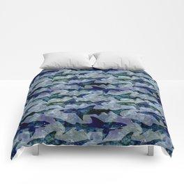 Deep Water Sharks Comforters