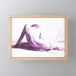 Violet Framed Mini Art Print