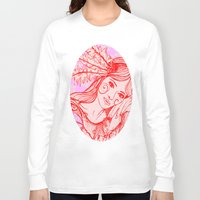 belle Long Sleeve T-shirts featuring Belle by thebutterflycollector