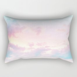 Unicorn Pastel Clouds #2 #decor #art #society6 Rectangular Pillow