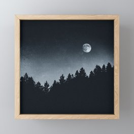 Under Moonlight Framed Mini Art Print