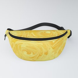 Honey Yellow Roses Abstract Fanny Pack