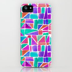 Watercolour Shapes iPhone (5, 5s) Slim Case