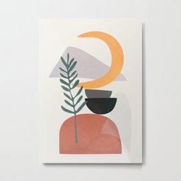 Abstract Shapes No.25 Metal Print