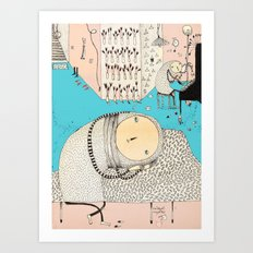 My daily life. Art Print