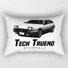 Tech Trueno Rectangular Pillow