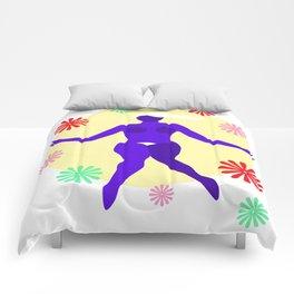 The Dancer III Comforters