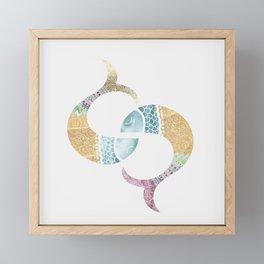 piscis Framed Mini Art Print