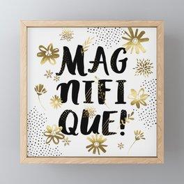 Magnifique Framed Mini Art Print