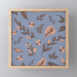 Flower Design Series 13 Framed Mini Art Print