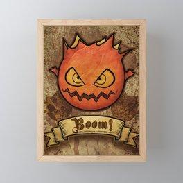 boom ! bomb Framed Mini Art Print