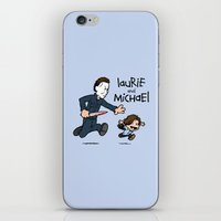 Laurie and Michael iPhone & iPod Skin