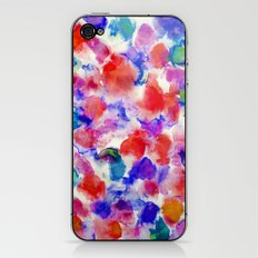 Amaris Blue iPhone & iPod Skin