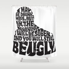 Best Churchill Quote Ever Shower Curtain