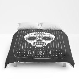 Minimal Tarot Deck The Death Comforters
