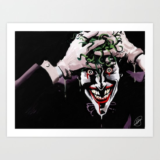 One Bad Day Art Print