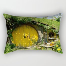 Hobbit Town Rectangular Pillow