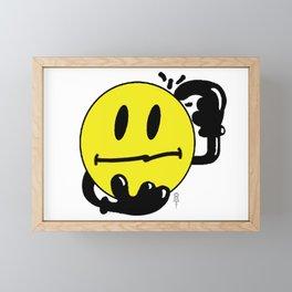 what the... Framed Mini Art Print